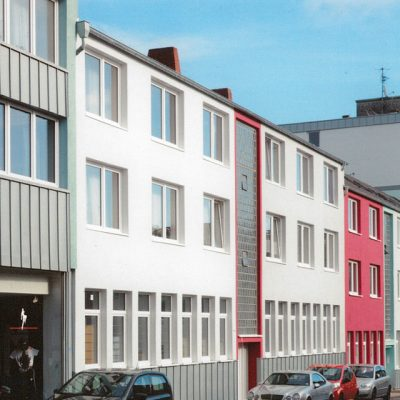 Energetische Sanierung, Mehrfamilienhaus Sigmundstr. Aachen